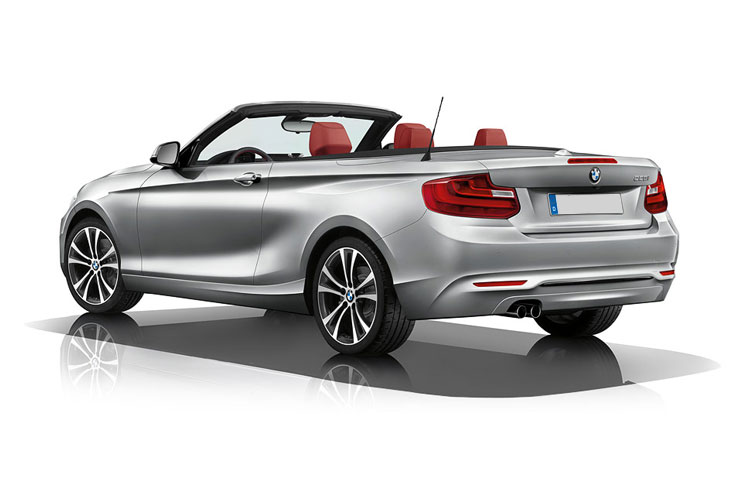 BMW 2 Series 218 Convertible 2.0 d 150PS SE 2Dr Manual [Start Stop] back view