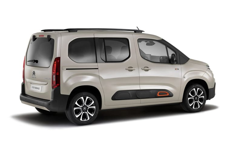 Citroen Berlingo M MPV 1.5 BlueHDi 130PS Flair XTR 5Dr Manual [Start Stop] back view