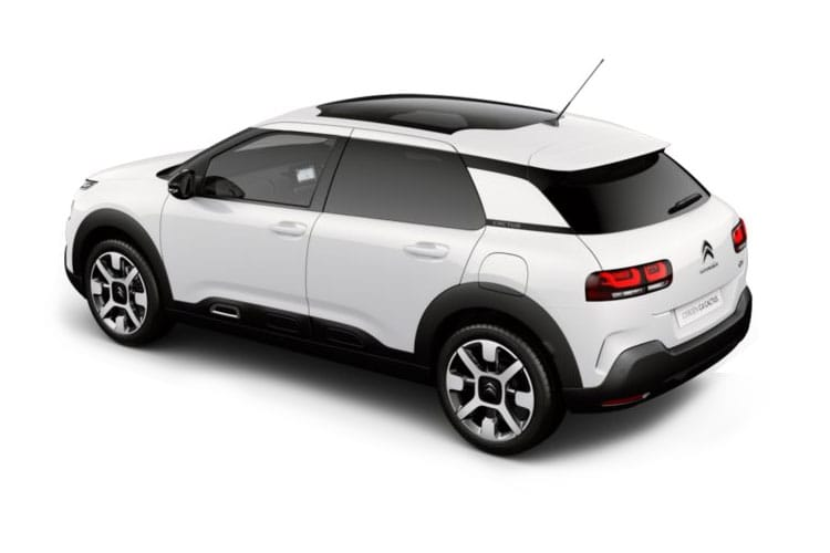 Citroen C4 Cactus Hatch 5Dr 1.2 PureTech 110PS Flair 5Dr Manual [Start Stop] back view