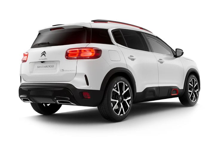 Citroen C5 Aircross SUV 1.5 BlueHDi 130PS Flair Plus 5Dr Manual [Start Stop] back view