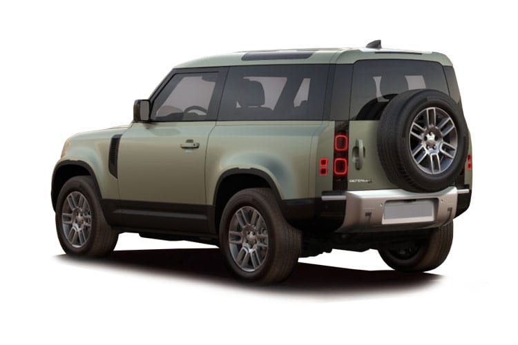 Land Rover Defender 90 SUV 3Dr 2.0 P 300PS X-Dynamic HSE 3Dr Auto [Start Stop] [6Seat] back view