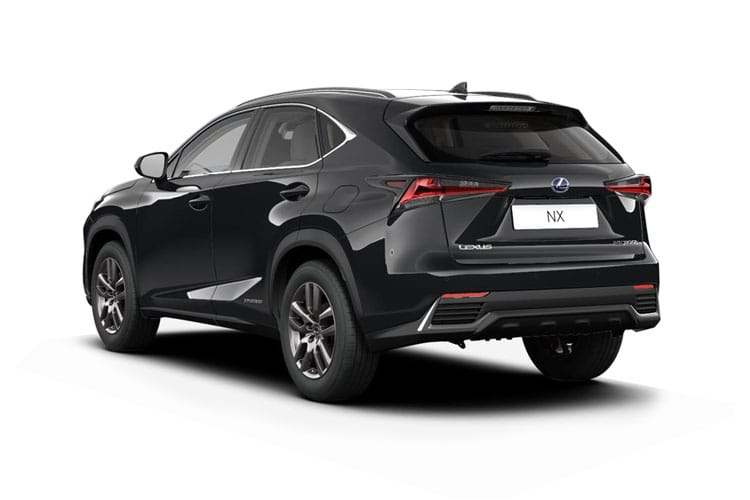 Lexus NX 300h SUV 4wd 2.5 h 197PS NX 5Dr E-CVT [Start Stop] [Premium] back view