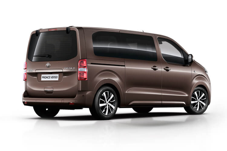 Toyota PROACE Verso Compact 2.0 D FWD 180PS Family MPV Auto [Start Stop] [8Seat Premium] back view