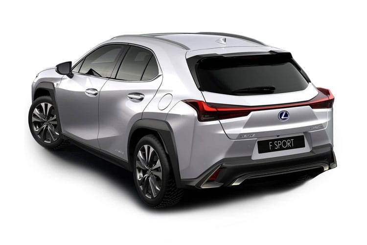 Lexus UX 250h SUV 2.0 h 184PS F-Sport 5Dr E-CVT [Start Stop] [Prem Plus Tech Safety SRoof] back view