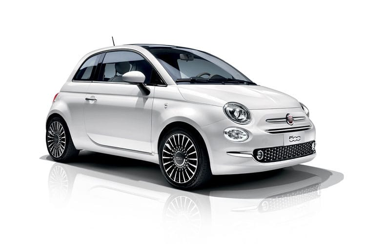 Fiat 500 Hatch 3Dr 1.2 8V 69PS Lounge 3Dr Manual [Start Stop] front view