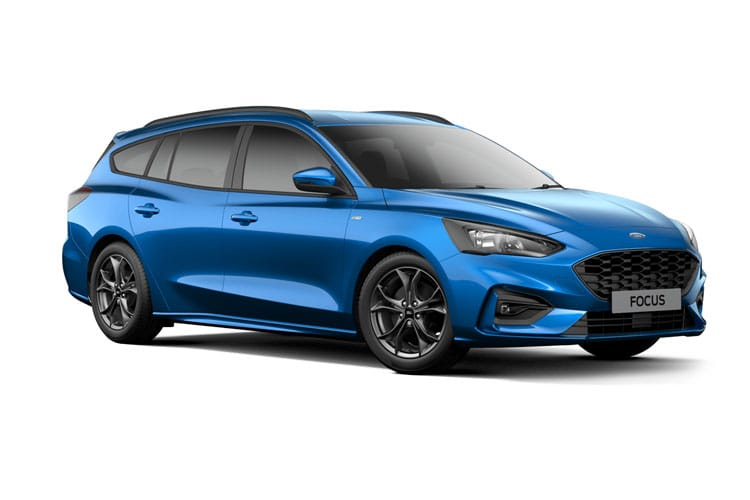 Ford Focus Estate 1.0 T EcoBoost MHEV 125PS Active Edition 5Dr Manual [Start Stop] front view