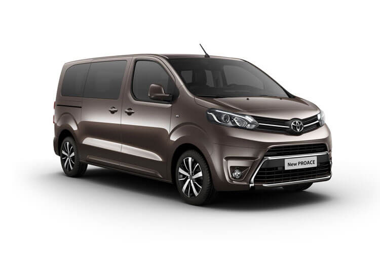 Toyota PROACE Verso Compact 2.0 D FWD 180PS Family MPV Auto [Start Stop] [8Seat Premium] front view