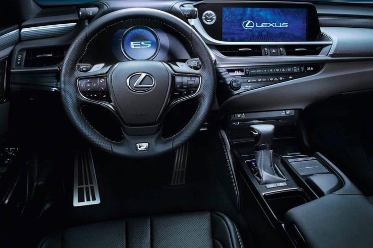 Lexus ES 300h Saloon 2.5 h 218PS F-Sport 4Dr E-CVT [Start Stop] [Takumi] inside view