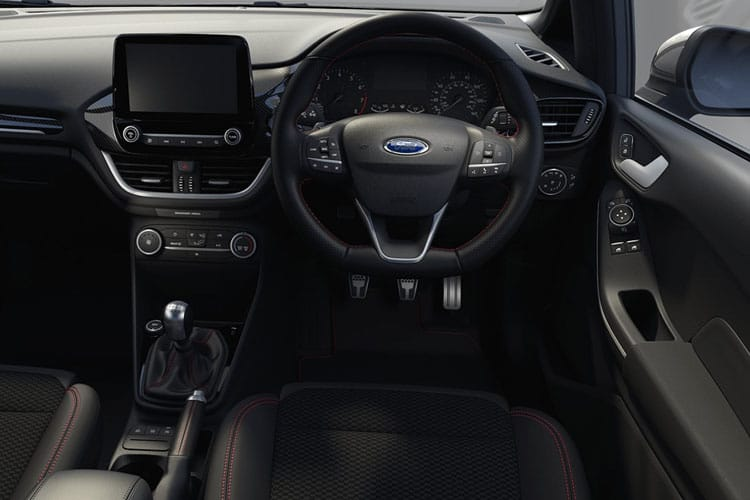 Ford Fiesta Hatch 3Dr 1.1 Ti-VCT 85PS Zetec 3Dr Manual [Start Stop] inside view