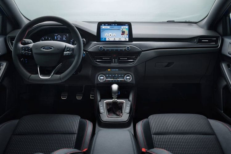 Ford Focus Estate 1.0 T EcoBoost MHEV 125PS Active Edition 5Dr Manual [Start Stop] inside view