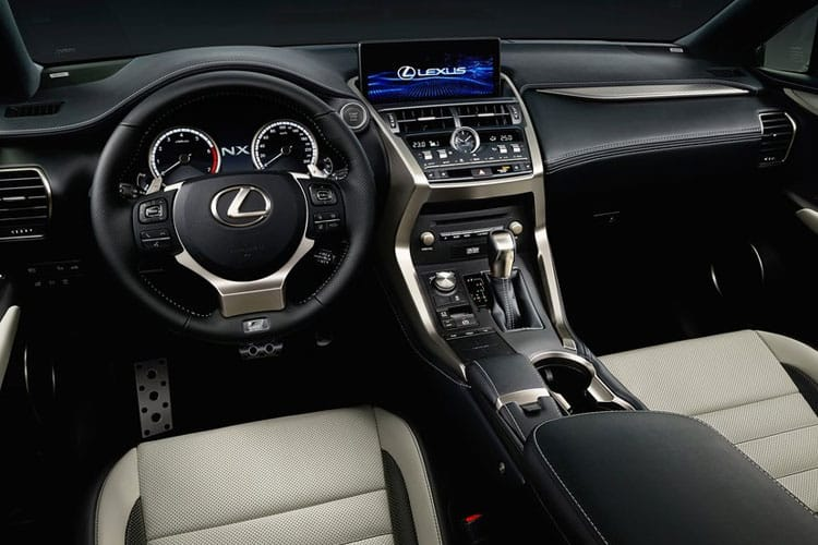 Lexus NX 300h SUV 4wd 2.5 h 197PS NX 5Dr E-CVT [Start Stop] [Premium] inside view