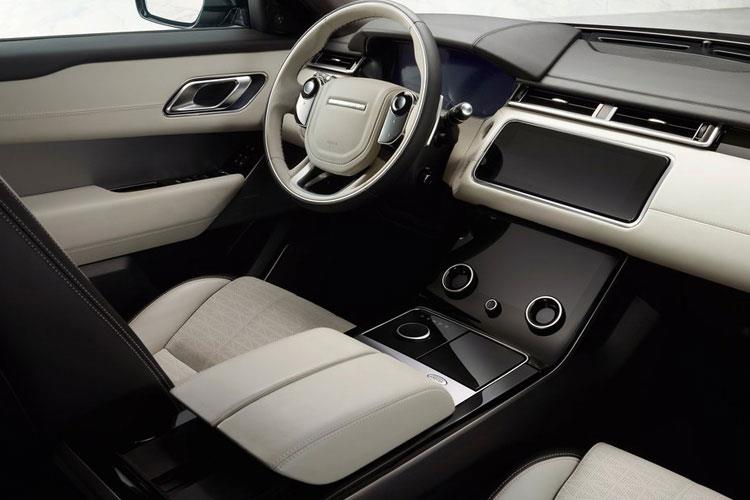 Land Rover Range Rover Velar SUV 5Dr 3.0 P MHEV 400PS R-Dynamic S 5Dr Auto [Start Stop] inside view