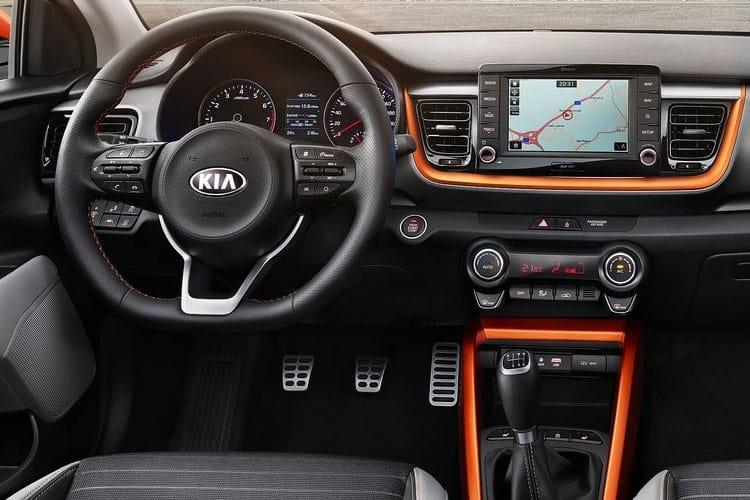 Kia Stonic SUV 5Dr 1.0 T-GDi MHEV 118PS GT Line S 5Dr Manual [Start Stop] inside view