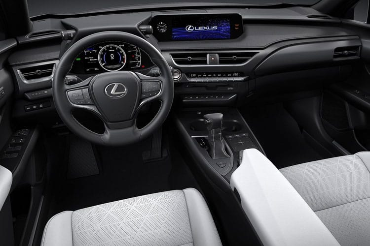 Lexus UX 250h SUV 2.0 h 184PS F-Sport 5Dr E-CVT [Start Stop] [Prem Plus Tech Safety SRoof] inside view