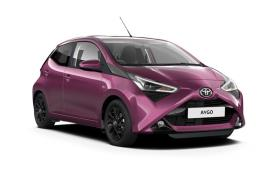 Toyota Aygo Hatchback car leasing